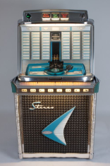 "Jukebox ""Rock-Ola"", Modell 1478, Chicago USA 1960"