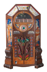 "Jukebox ""Wurlitzer Victory"", Modell 1942, Cincinnati USA"