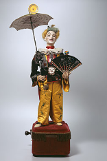 MMA_Clown mit Schirm, Paris, 1878