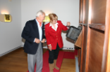 Heinrich Weiss and his daughter Susanne Weiss starting the organ on 28 September 2007